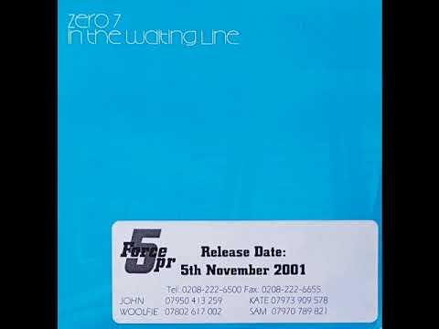 Zero 7 In The Waiting Line (Radio Edit) Promo 2001