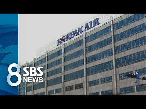 '갑질 파문' 대한항공, 13년 만에 격려금…직원들은 싸늘 / SBS