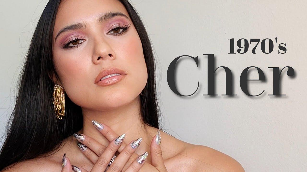 Cher makeup transformation tutorial * #chermakeuptransformation #70schermakeuptransformation