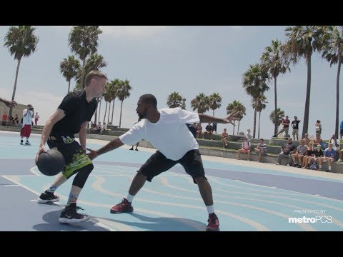 Professor and Bone Collector Take On All Challengers at Venice Beach