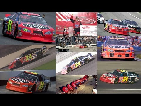 All 6 of Jeff Gordon's Wins in 2001 (Finishes) Jeff Gordon Edit