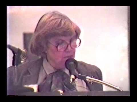Cults: Dr. Margaret Singer Speaks at Conference
