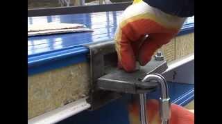 видео Что такое стеновые сэндвич панели