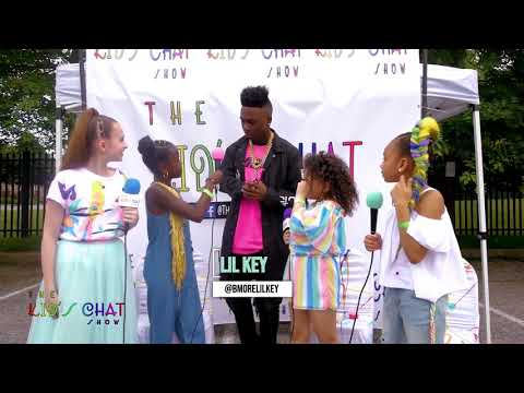 Kid's Chat Show interviews Lil Key at the Queens Youth Music Festival