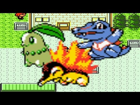 How To Find All Three Starters In Pokemon Crystal Silver
