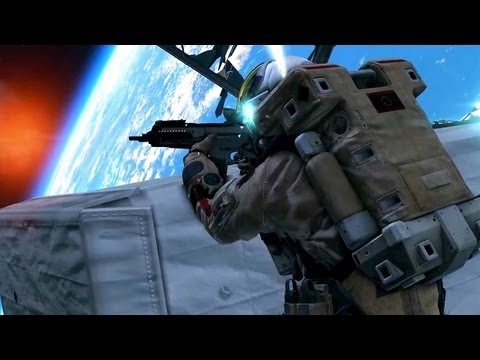 Call of Duty: Ghosts Single Player Campaign Trailer (COD Ghost Official HD Space Gameplay)