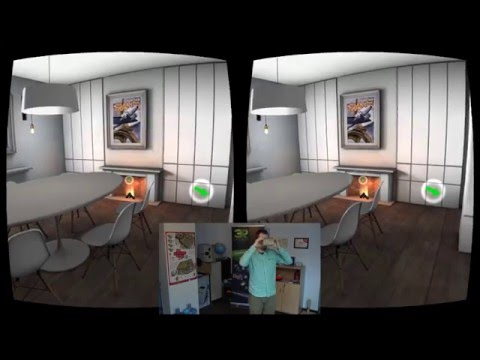 Simple DEMO APP - VR presentation of interior design project.