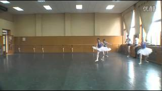 Beijing Dance Academy Ballet Performance class part 1