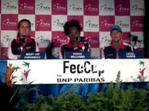 Fed Cup: Mary Joe Fernandez, Venus Williams, Liezel Huber