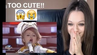 your face sounds familiar kids xia vigor as taylor swift you belong with me reaction