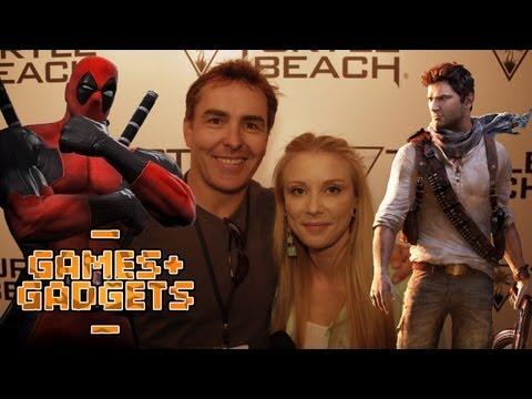 Voice of Deadpool & Nathan Drake  Nolan North  SBTV Games & Gadgets