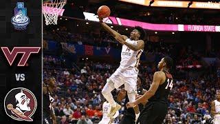 Virginia Tech vs. Florida State ACC Basketball Tournament Highlights (2019)