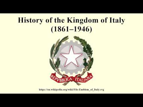 History of the Kingdom of Italy (1861–1946)