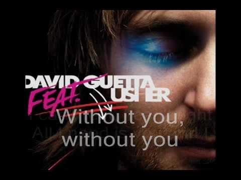 Without You - David Guetta ft. Usher lyric video