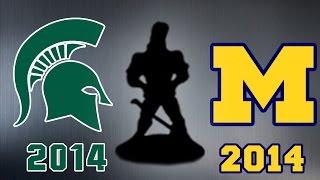 Michigan vs Michigan State Football Trailer 2014 ᴴᴰ