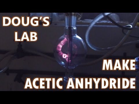 Acetic Anhydride Part 2: Running the Lamp