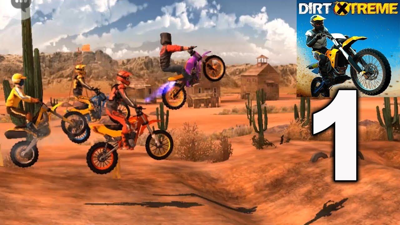 Dirt Xtreme Bike Racing Game Arizona 2 5 Gameplay