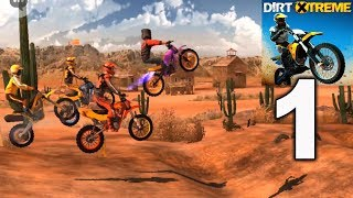 Dirt Xtreme - Bike Racing Game - Arizona 2 - 5 Gameplay Walkthrough Part 1 (iOS, Android)