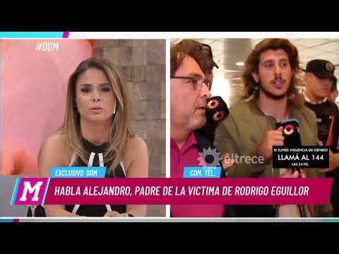 El relato de Lourdes, víctima de Rodrigo Eguillor, fue explicado por su padre