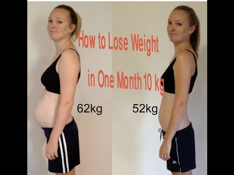 How to Lose Weight in One Month 10 kg