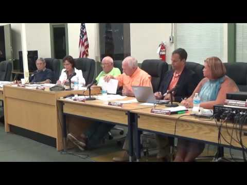 Carrabelle City Commission Meeting September 8, 2016