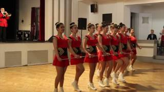 турне на духов оркестър и мажоретки към пг по ктс brass band and majorettes tour from pg po kts