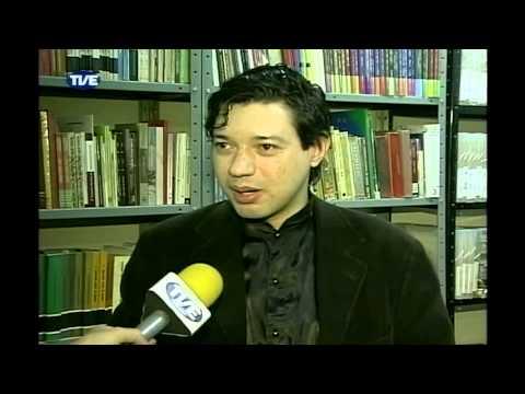 Esteban Rey Fontan- entrevista Estação Cultura TVE sobre o livro A paixão dos amantes pela morte