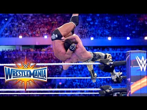 Thumbnail: Seth Rollins vs. Triple H - Non-Sanctioned Match: WrestleMania 33 (WWE Network Exclusive)