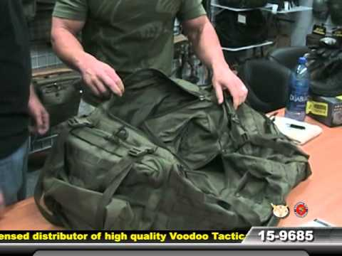 Mojo Load Out Bag With Backpack Straps