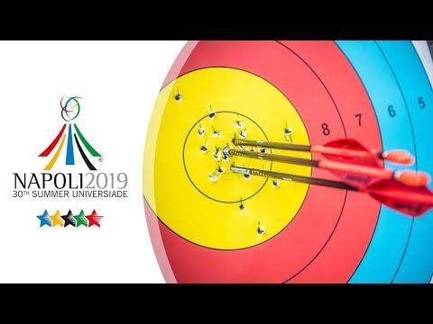Live: Recurve Finals   Napoli 2019 Universiade
