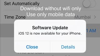 Gambar cover iPhone Update 12 without wifi | Apple tips
