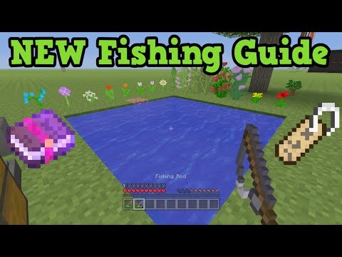 Minecraft Xbox 360 / PS3 Fishing Tutorial & Fish Enchantments
