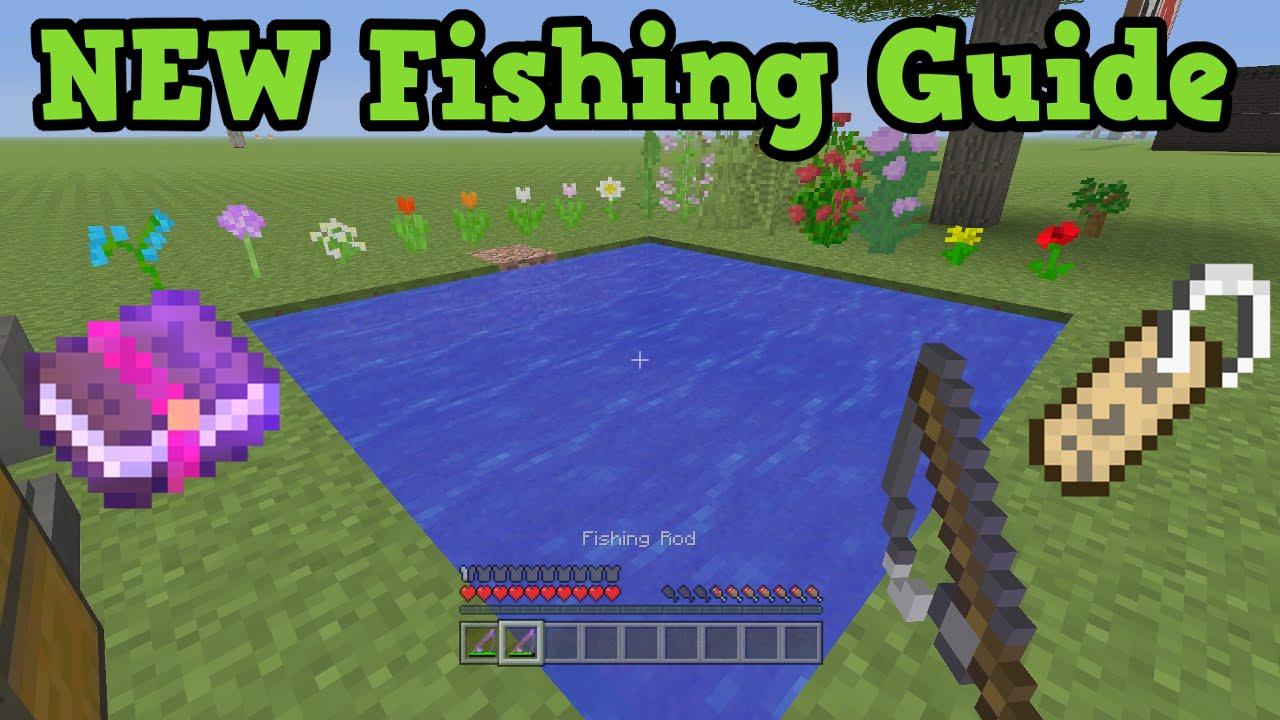 minecraft fishing tips - 1280×720