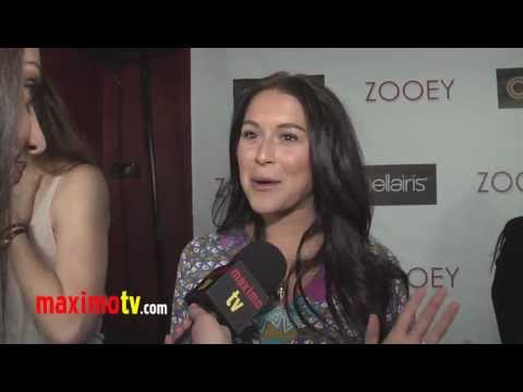 Alexa Vega Interview at ZOOEY Magazine RELAUNCH Party - Exclusive