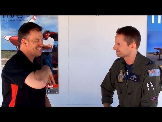 SQNLDR Red Borrman f35 pilot full interview