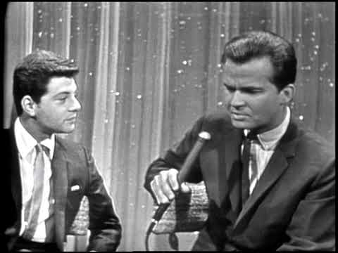 American Bandstand 1965- Interview Frankie Avalon