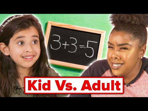Kids Vs. Adult: Elementary Math