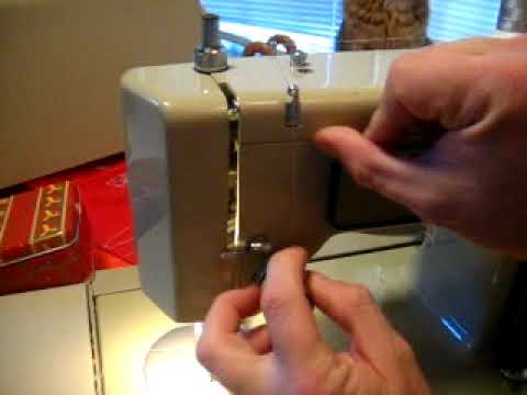 How To Thread A Vintage Kenmore Sewing Machine YouTube New How To Thread Kenmore Sewing Machine 385
