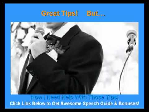 Groom Wedding Speech: Tips So Your Groom Wedding Speech Will Be Remembered  For Years!