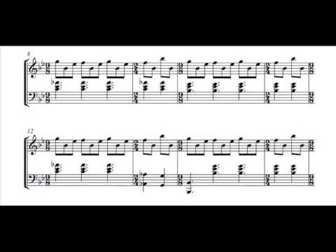 Genesis - Firth of Fifth Piano Intro - LINK TO DOWNLOAD FOR FREE THE PIANO SHEET IN THE DESCRIPTION