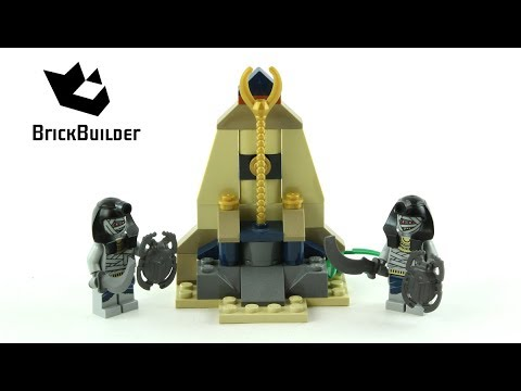 LEGO Pharaoh/'s Quest 7306 Golden Staff Guardians New
