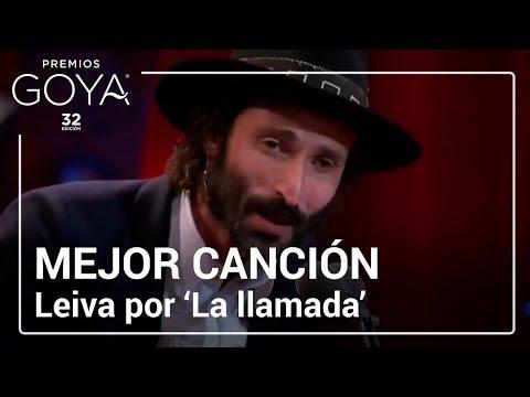 Leiva gana el Goya a Mejor Canción Original por † La llamada † | #Goya2018
