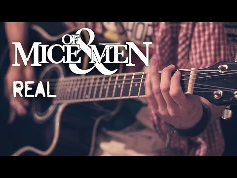 Of Mice & Men - Real (acoustic guitar / vocal cover by Dmitry Klimov)