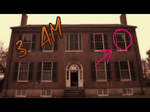Haunted Mansion at 3 AM REAL Ghost Activity Caught on Camera