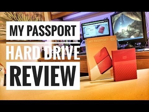Western Digital My Passport Hard Drive Review