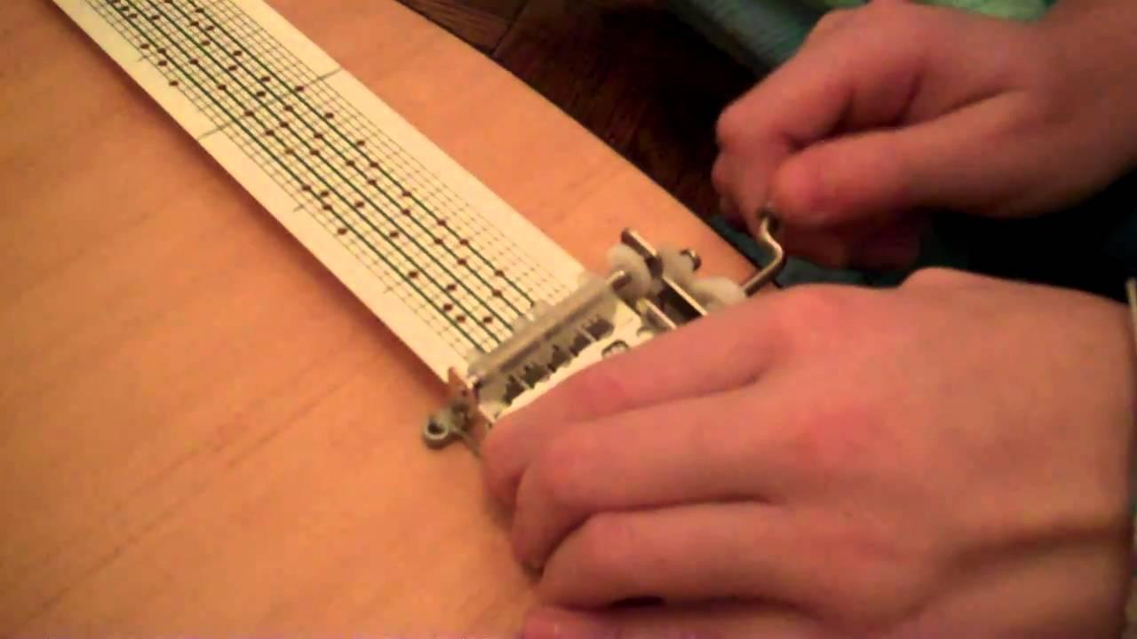 clocks by coldplay on kikkerland music box  youtube - clocks by coldplay on kikkerland music box  youtube