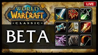 👾CLASSIC WOW BETA: TWINK WARSONG GULCH + OPEN DUEL TOURNAMENTS (REALM 3)