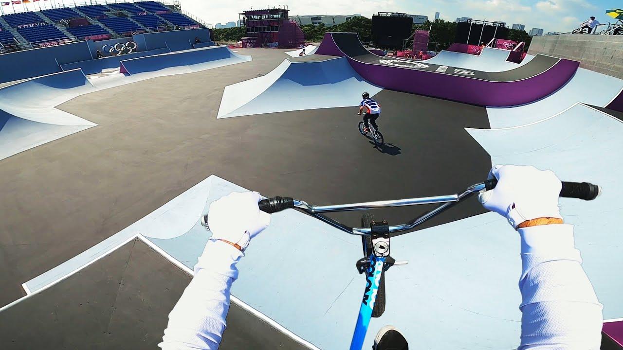 Впервые BMX на Олимпиаде в ТОКИО! Бешенная раскатка