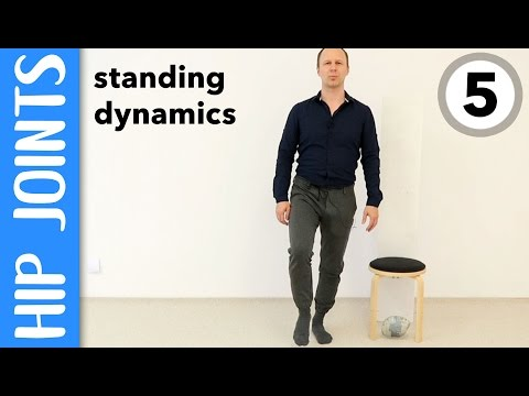 Improved standing and walking with better hip joint dynamics