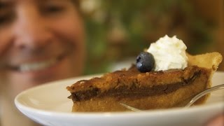 Sweet Potato Pie: Chocolate Marble Style | Totally Sacha